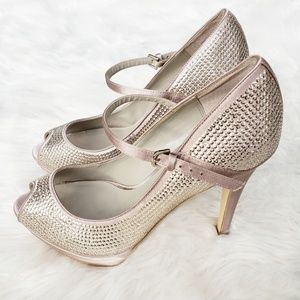 Stunning Michael Kors Sequin Mary Jane Pumps